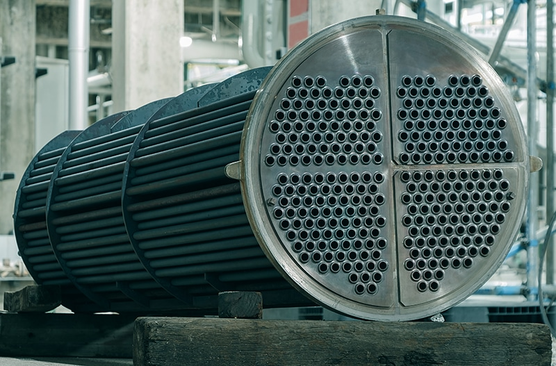 Heat exchanger shell and tube repairing in factories of petrochemical industrial