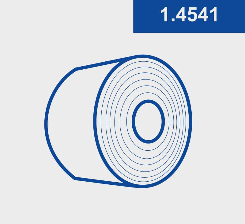 Coils-Spaltband-1.4541